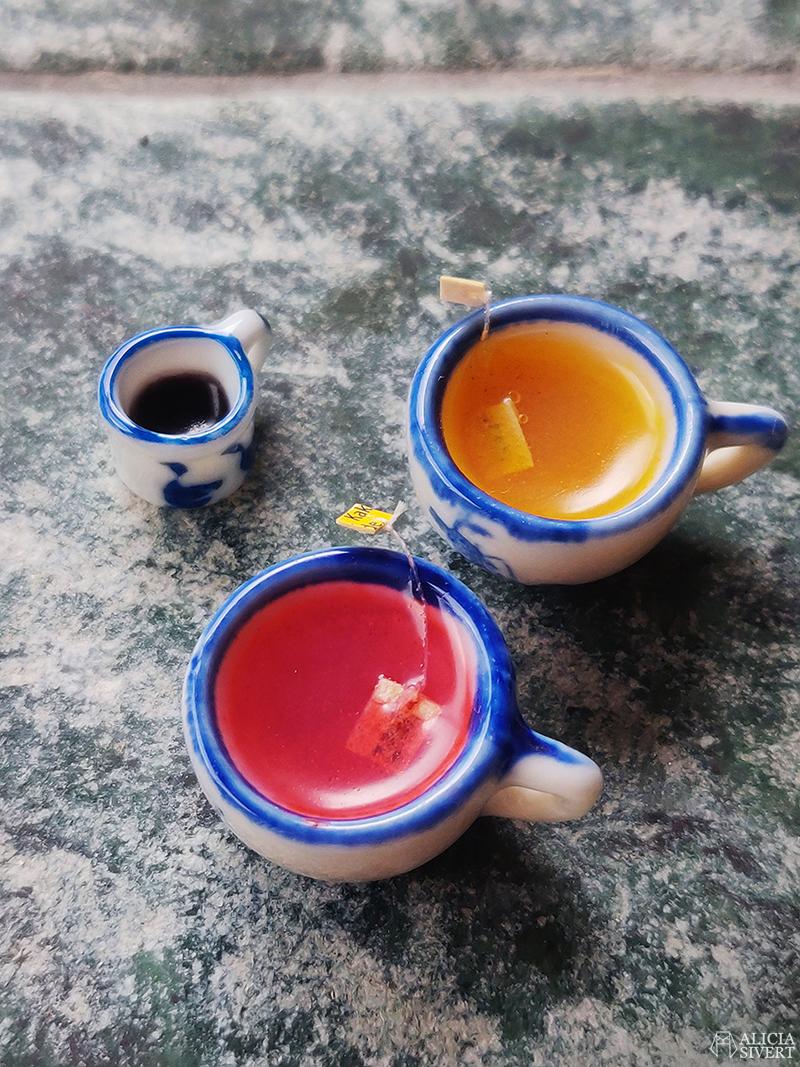 Koppas med kaffe och te av cernitlera - www.aliciasivert.se